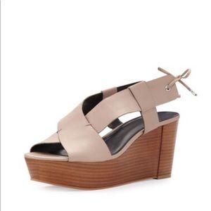 🆕 Rebecca Minkoff Calla Wedge Platform Sandals
